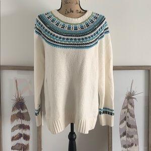 NWOT LOFT winter sweater